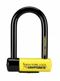 Zapięcie U-Lock Kryptonite New York Fahgettaboudit DD nowy model