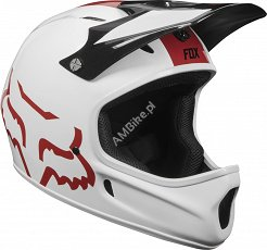 KASK ROWEROWY FOX RAMPAGE WHITE