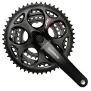 Mechanizm Korbowy 7/8rz Shimano Tourney FC-A073 50/39/30T 170mm