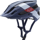 KASK ROWEROWY FOX FLUX RED BULLLE NAVY WHITE