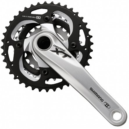 Mechanizm Korbowy 10rz Shimano XT FC-M782 40/30/22 175mm