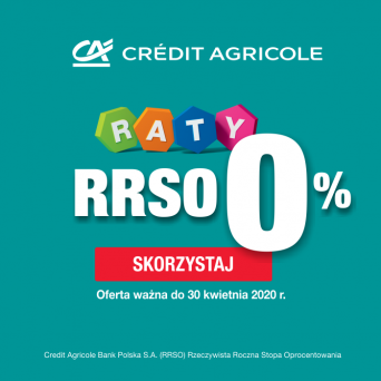 Credit Agricole RATY 10 x 0%